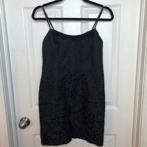 Vintage black mini dress